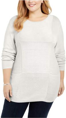 Karen Scott Plus Size Knit Tunic