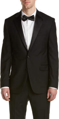 Kenneth Cole New York Wool Tuxedo With Flat Front Pant