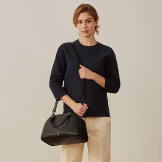 Liliana Maxwell Scott Bags Personalised Real Leather Bowling Handbag 'Liliana S'