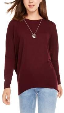 BCX Juniors' Dolman-Sleeve Sweater