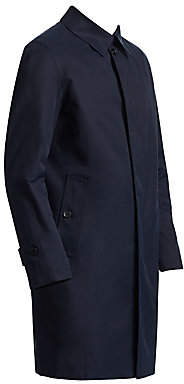 Saks Fifth Avenue Split Raglan Raincoat