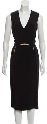 Lanvin Sheath Midi Dress Black Sheath Midi Dress