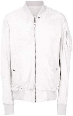 Rick Owens Dirt leather bomber jacket