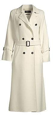 Max Mara Women's Oidio Doppio Wool Trench