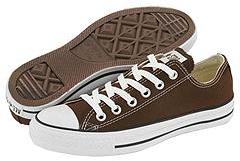 Converse - Chuck Taylor All Star Seasonal Ox (Chocolate) - Footwear