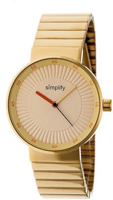Simplify Unisex The 4600 Watch
