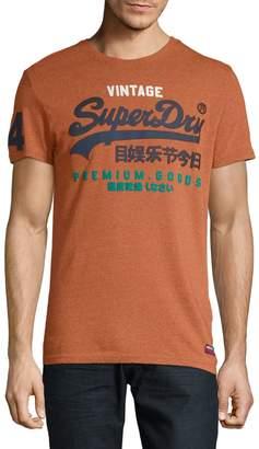 Superdry Graphic-Print Crew Neck Tee