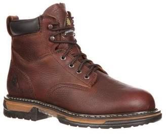 "Rocky FQ0005696 (L) 6"" BrnSoggy RWP MEDIUM 11 Work Boots"