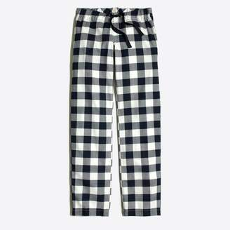J.Crew Factory Yarn-dyed flannel pajama pant