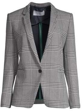 BOSS Jemaromina Plaid Stretch Jacket