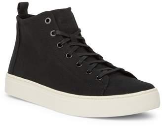 Toms Lenox Mid Hemp Lace-Up Sneaker