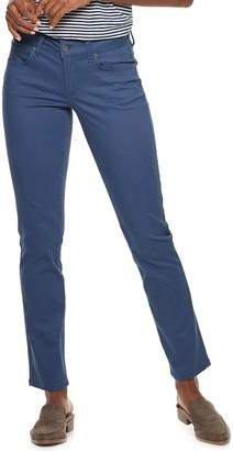 Sonoma Goods For Life Women's SONOMA Goods for Life Straight-Leg Sateen Pants