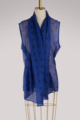 Haider Ackermann Silk wrap top