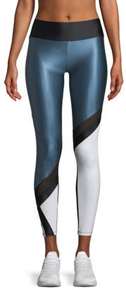 Lanston Jenner Colorblock Performance Leggings