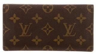 Louis Vuitton Monogram Checkbook Cover Brown Monogram Checkbook Cover