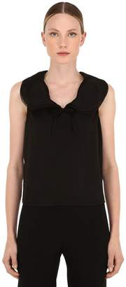Giorgio Armani Stretch Silk Charmeuse Top