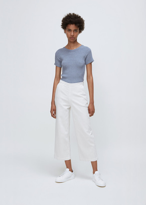 Rachel Comey dirty white slim limber pants $322 thestylecure.com