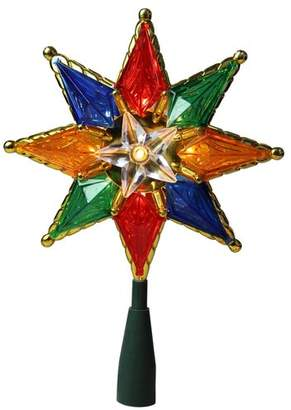The Holiday Aisle Traditional Mosaic 8-Point Star Christmas Tree Topper