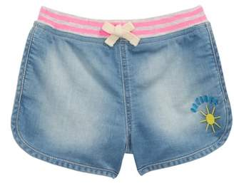 Tucker + Tate Embroidered Denim Shorts