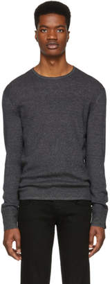 Rag & Bone Grey Davis Crewneck Sweater