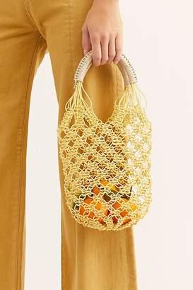 Jelly Plastic Basket Bag