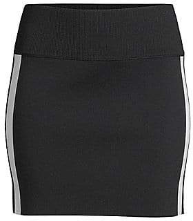 Zoa Zoë Jordan Zoë Jordan Women's Bates Wool& Cashmere Side Stripe Mini Skirt