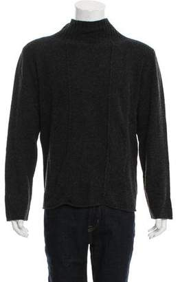 Armani Collezioni Camelhair & Wool Turtleneck Sweater w/ Tags