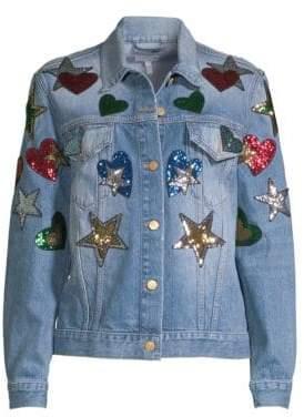 Escada Sport Embellished Denim Jacket