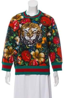Gucci 2017 Tiger Sweatshirt