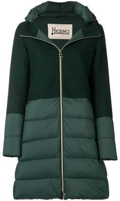 Herno padded long sleeved jacket