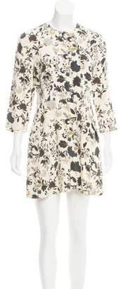 A.L.C. Silk Floral Dress