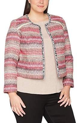 Ulla Popken Women's Indoorjacke Multicolor Jacket