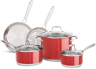 KitchenAid 8-Piece Stainless Steel Cookware Set