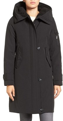French Connection Hooded Parka $158 thestylecure.com