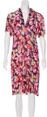 Sonia Rykiel Floral Midi Dress