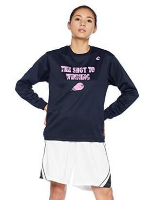 Converse (コンバース) - [コンバース] バスケットボールウェア 機能プリントロングスリーブTシャツ CB382305L [レディース] ネイビー 日本 L (日本サイズL相当)