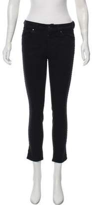 Alexander McQueen Mid-Rise Jeans