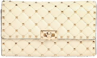 Spikes Quilted Studded Leather Clutch $1,545 thestylecure.com