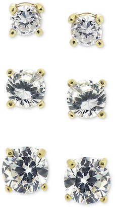 8ae878d1c5f7ee ... at Macy's · Giani Bernini 3-Pc. Cubic Zirconia Sterling Silver Stud  Earrings in 18k Rose Gold