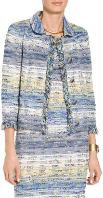 St. John Chelsea Tweed Knit Jacket