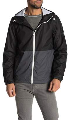 Dockers Rubberized Light Weight Hooded Jacket