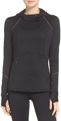 Women's Zella Run Free Hooded Pullover $89 thestylecure.com