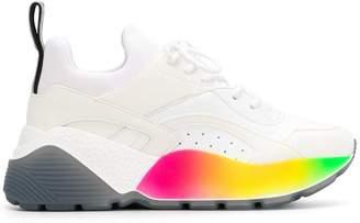 Stella McCartney rainbow platform sneakers