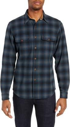 Frye Marlon Regular Fit Plaid Sport Shirt