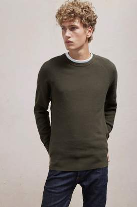 French Connenction Winter Cotton Rib Knit Jumper