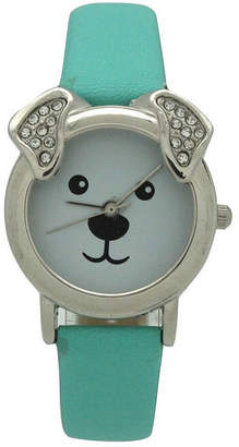 OLIVIA PRATT Olivia Pratt Dog Unisex Black Strap Watch-H10046mint