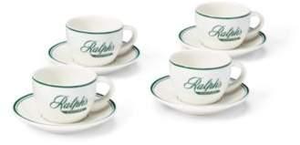 Ralph's Espresso 4-Piece Set