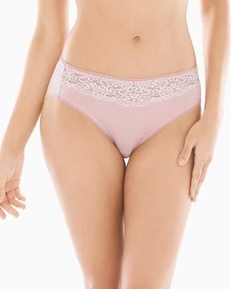 Embraceable Lace High Leg Brief