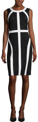 Ronni Nicole RN Studio by Sleeveless Colorblock Sheath Dress