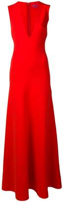 SOLACE London V-neck gown